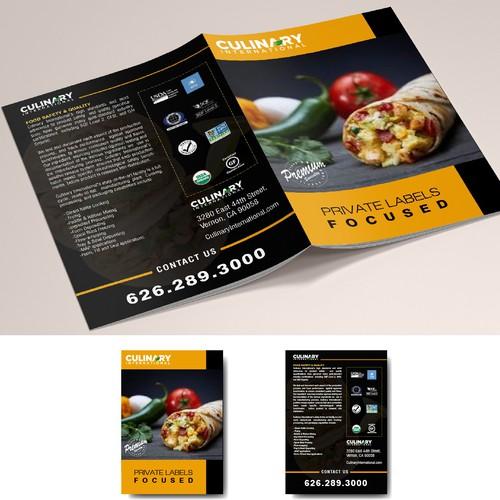 half fold  brochure a3 size