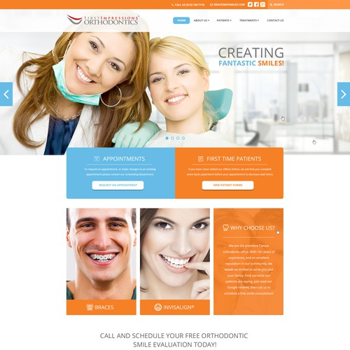 First Impressions Orthodontics Website