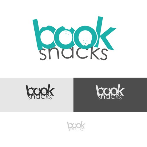 BookSnacks logo concept