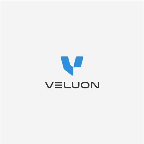 Design a logo for 'Veluon', a next generation product development company