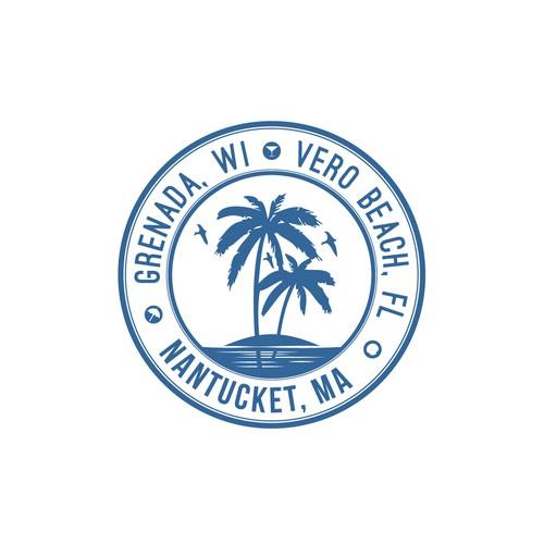 Logo representing coastal vacation homes