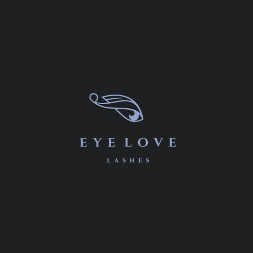 Luxurious salon with eyelash extension services for women - logo