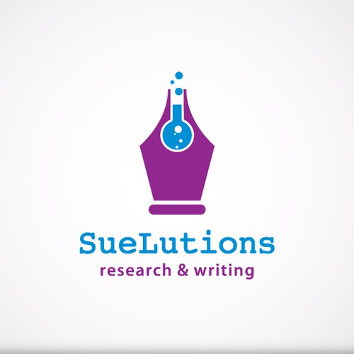 SueLutions-research&writing needs a new logo