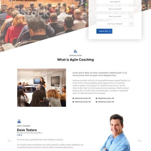 Seminar Page design