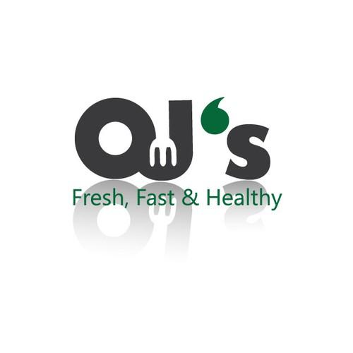 Logo for OJ's restaurant