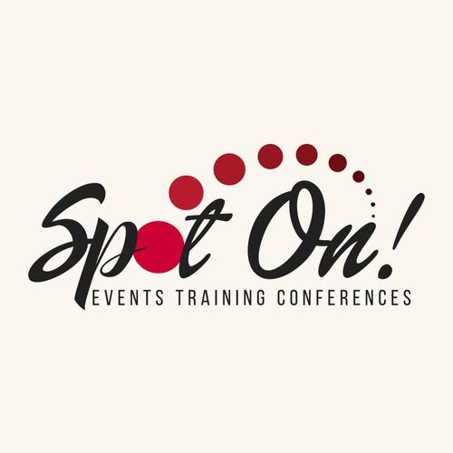 Logo design for Spot On Events