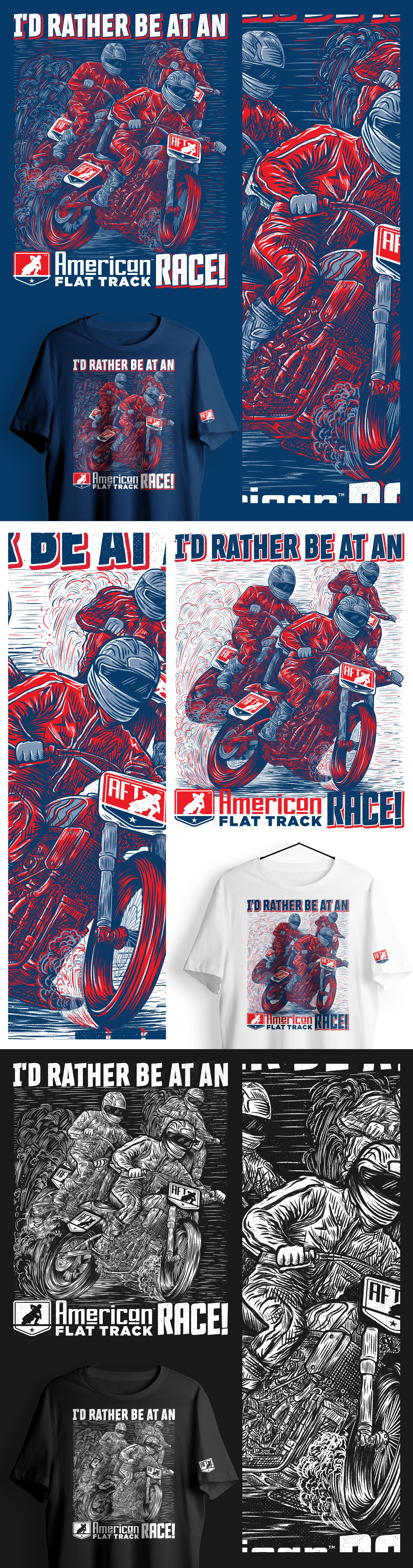Graphic intense shirt illustration