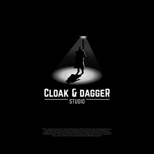 Classic Mysterious Noir Film-maker Logo