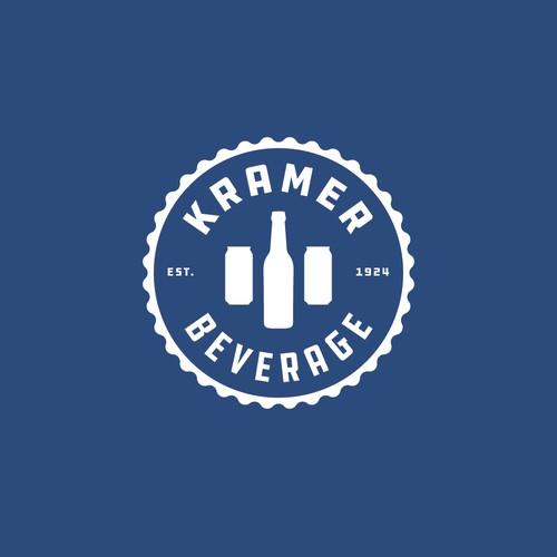Logo concept for Kramer Beverage.