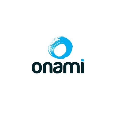 Logo for onami (multimedia marketing)