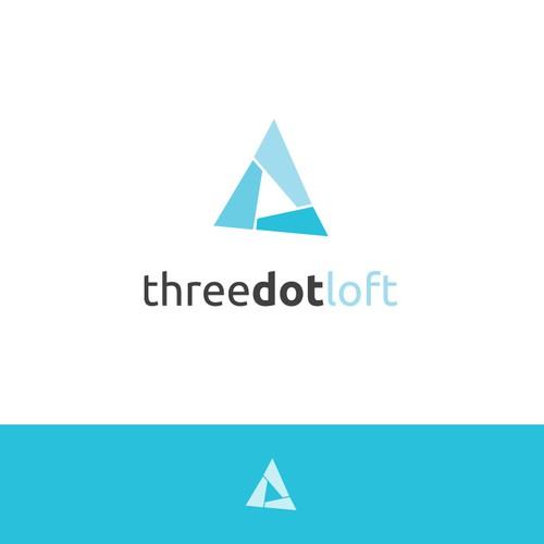winner logo for Three Dot Loft (web development)