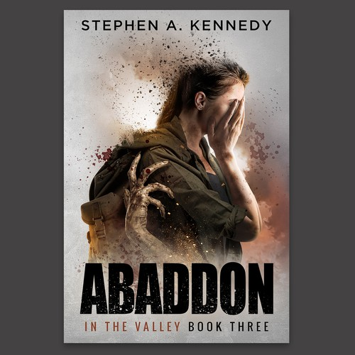 """""""Abaddon"""" Post-Apocalyptic Book Cover Design"""