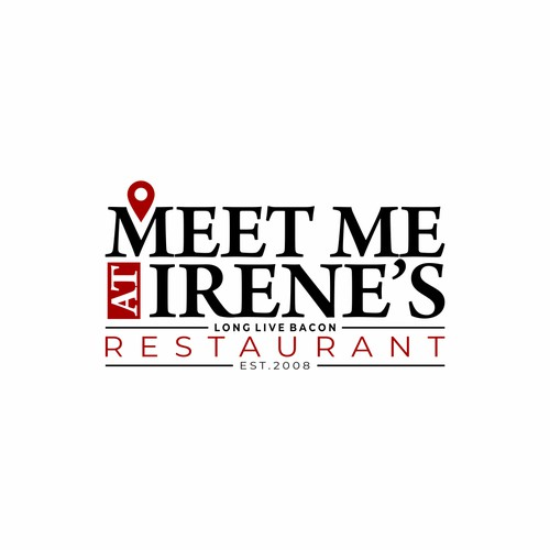 LOGO CONCEPT FOR Meet Me At Irene's
