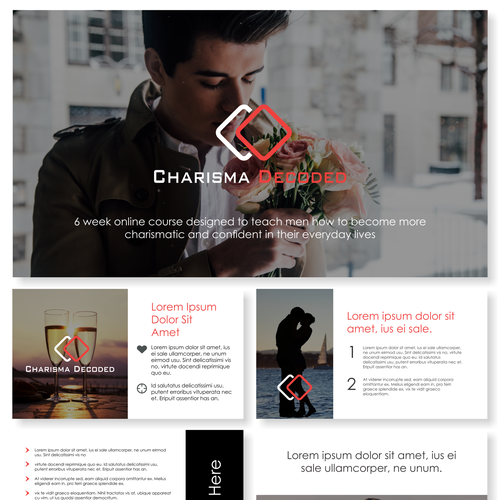 powerpoint design for Charisma Decoded