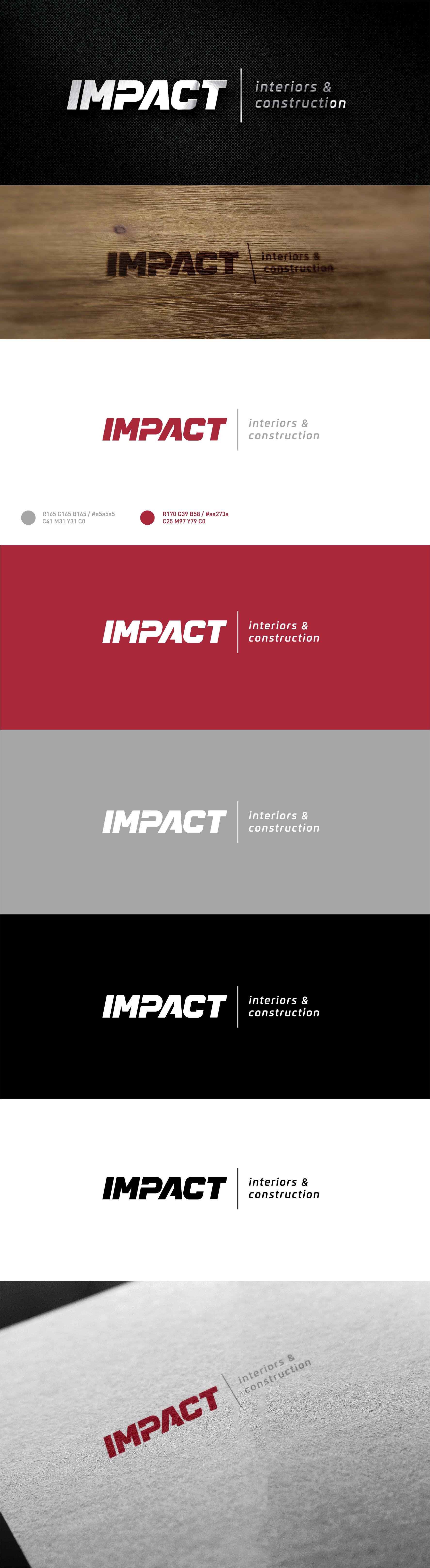 New logo for IMPACT INTERIORS