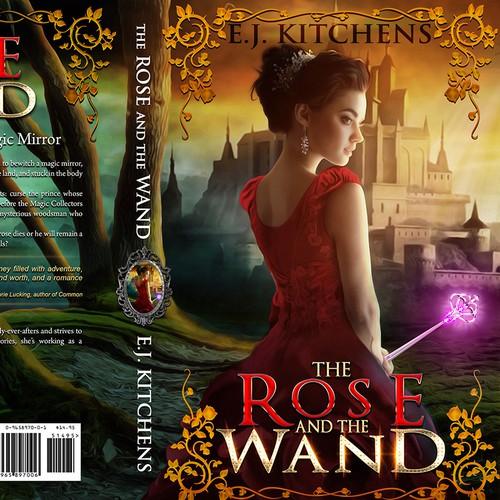 fantasy princess magic book cover