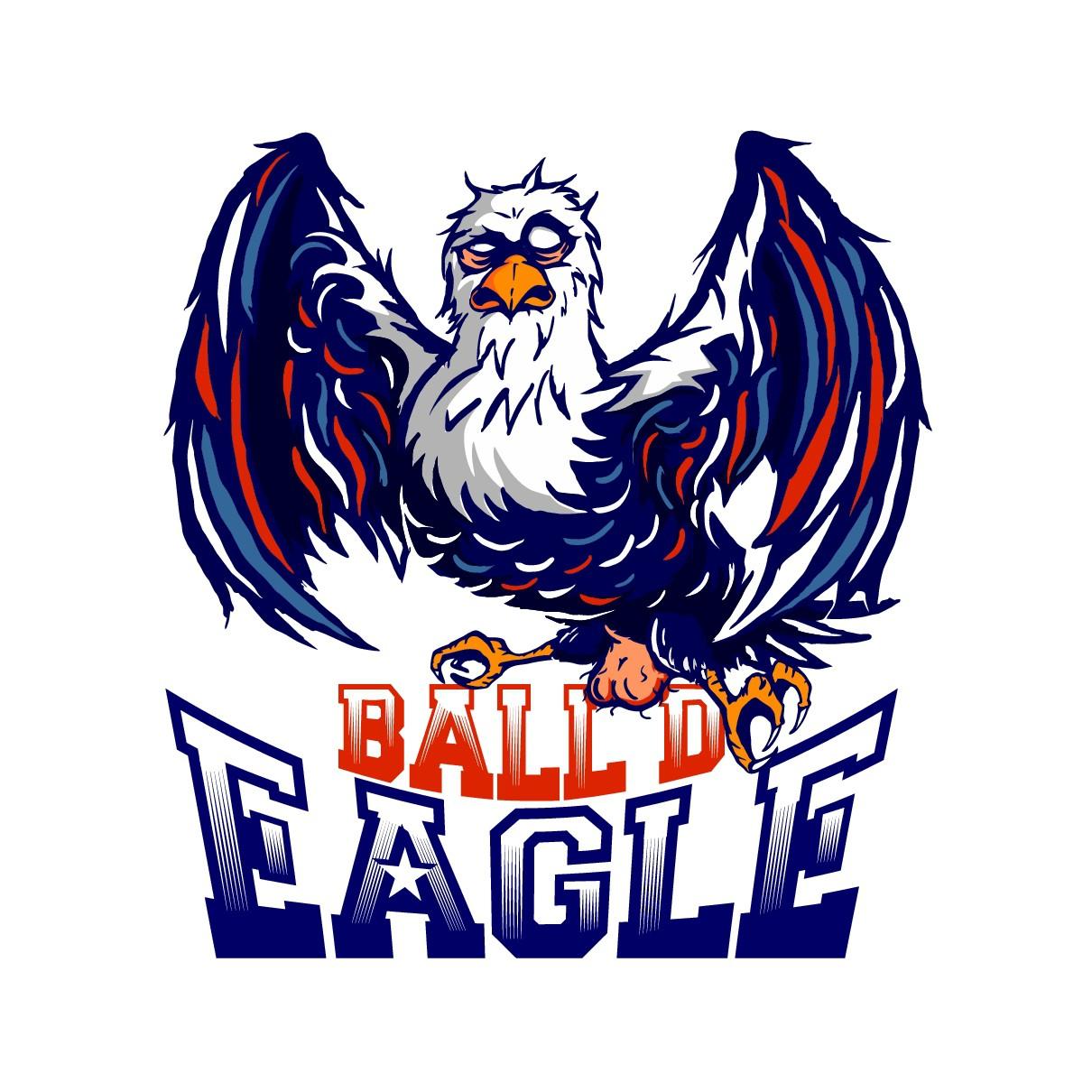 Ball'd Eagle Logo