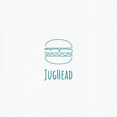 Logo for a burger restaurant