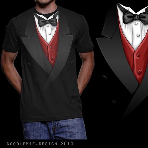 """T-Shirt """"Tuxedo"""" - multiple Winner possible"""
