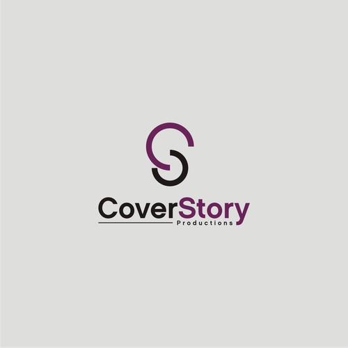 CoverStory logo concept