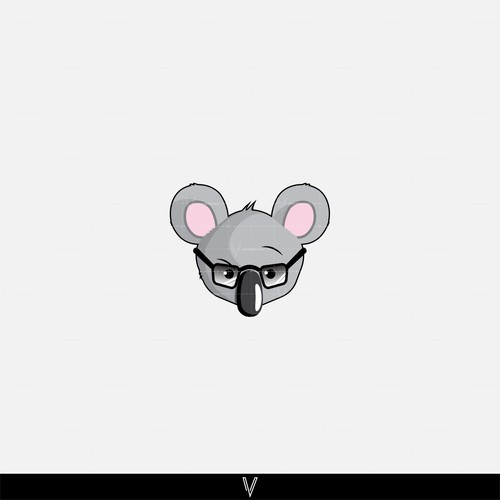 Fun/Nerdy Koala character