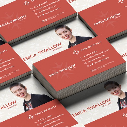 Swallow-inspired branding for real estate company
