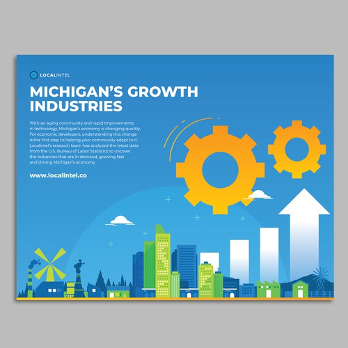 Infographic brochure for localintel