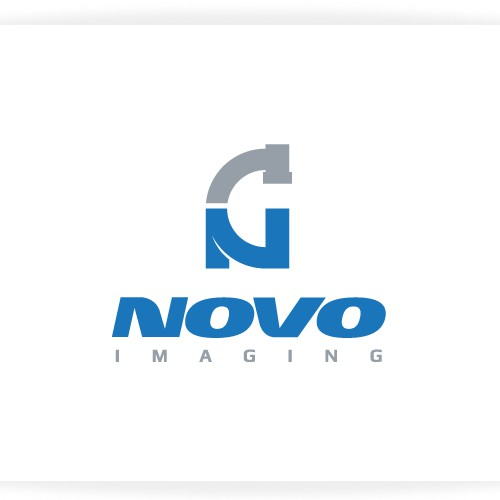 logo and business card for Novo Imaging