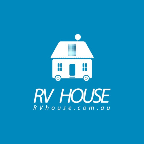 Logo  concept for RV sellers.