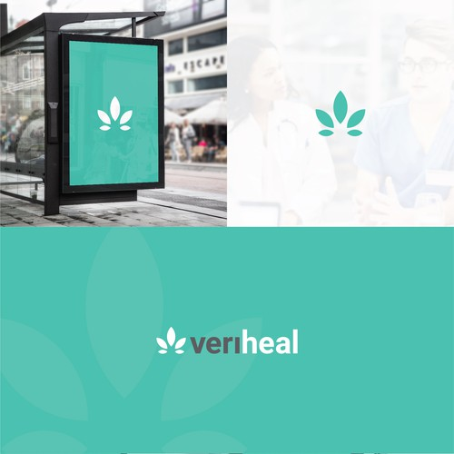 veriheal logo design