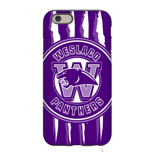 Sport logo phone case