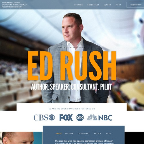 ED Rush Personal Website