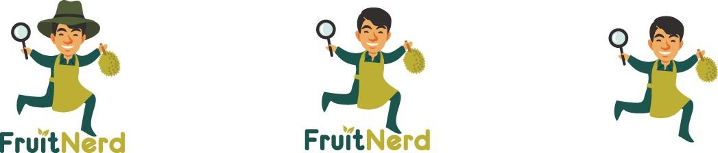 The Fruit Nerd! A passionate symbol or hand gesture design!