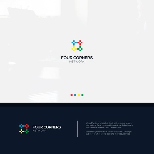 Design a stylish (& warm) logo for Four Corners Network