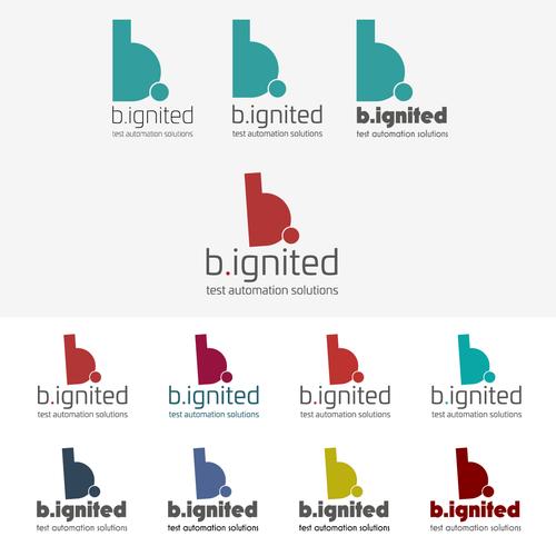 Automation IT-bedrijf b.ignited zoekt nieuw cool logo