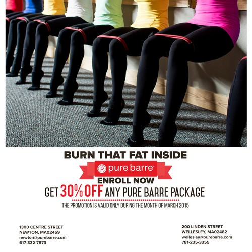 Make an Email campaign to recapture Pure Barre studio customers!!!