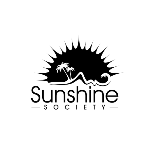 Sunshine Society Logo - Beach Lifestyle