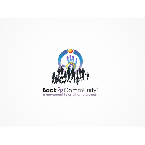 Create the next logo for Back 2R CommUnity