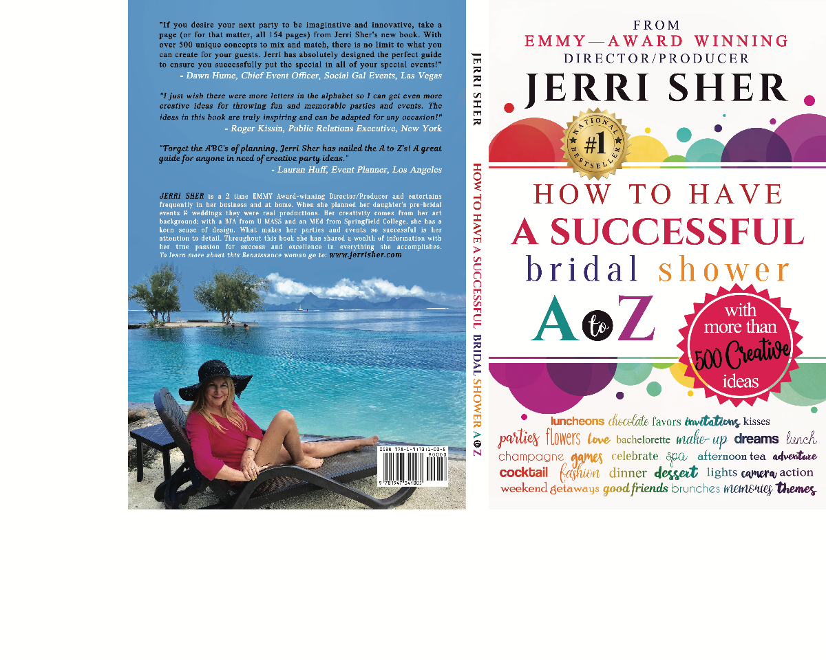 Back cover for How to Have A Successful Bridal Shower A to Z