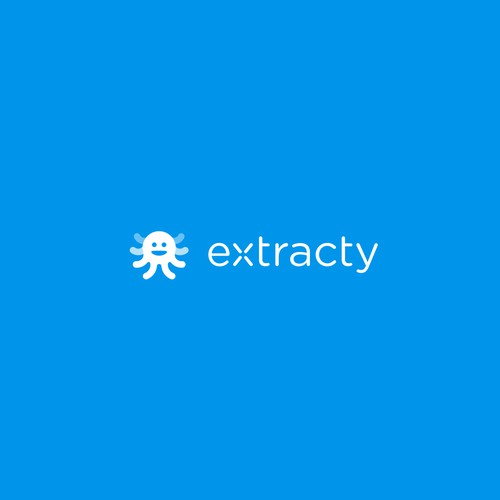Extracty logo design.