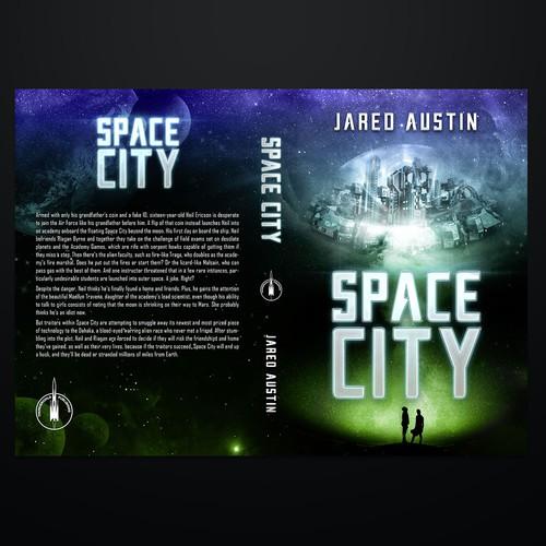 Sci fi cover for YA book