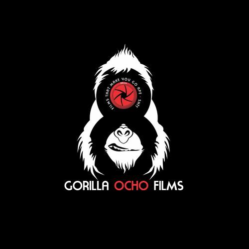 Create a logo for Films That Make You Go Ape-Sh!t