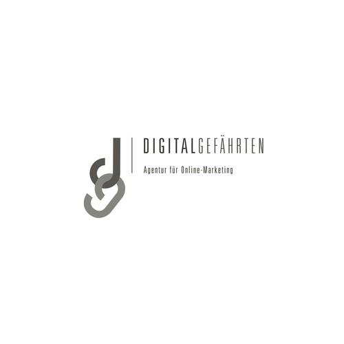 Logoentwurf – Digitalgefährten