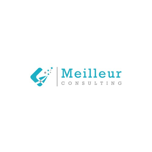 Beautiful logo for Meilleur consulting.
