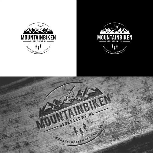 mountain biken