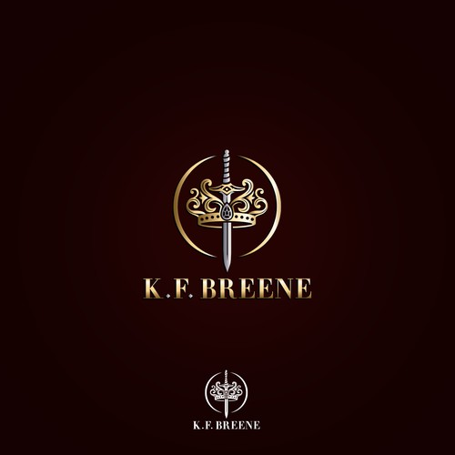 Logo design for K.F. Breene