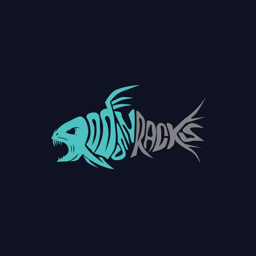 Fish Typography logo