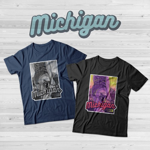Michigan Outdoors T-Shirt Concept