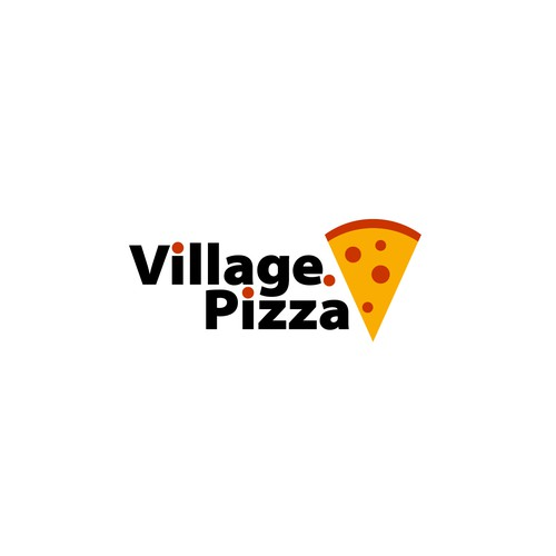 Simple logo for pizzaria