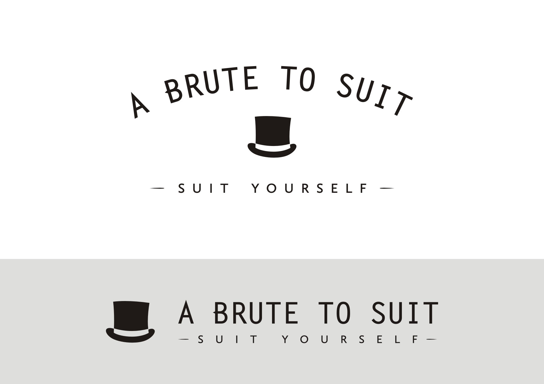 A Brute To Suit needs a new logo